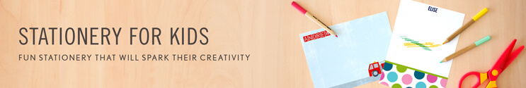 Personalized Stationery for Kids
