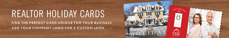 Realtor Christmas Cards & Real Estate Holiday Cards
