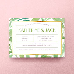 Bridal Shower<br>Invitations