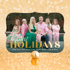 Celebrity Holiday Cards
