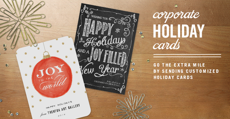 Corporate Christmas Cards, Christmas Cards for Business | Simply ...